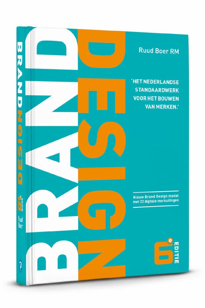 Boek Brand Design cover 17e druk